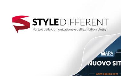 STYLE DIFFERENT > Nuovo sito APA